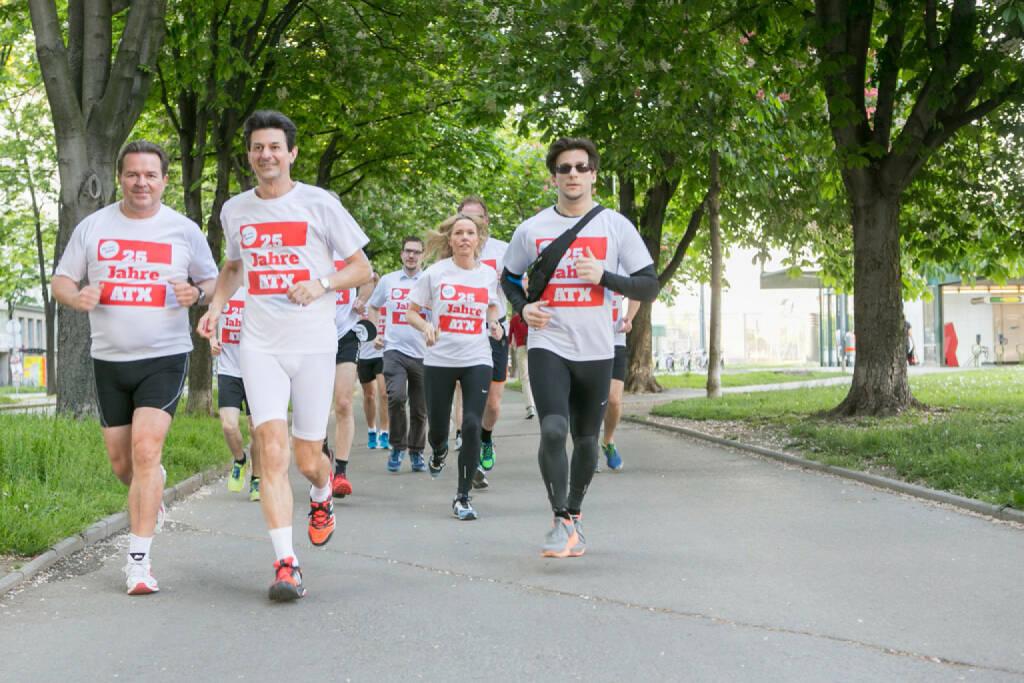 Gernot Heitzinger, Peter Brezinschek, Lukas Jersabek  (25 Jahre ATX - Lauf in rot-weiss-rot ) (09.06.2016)
