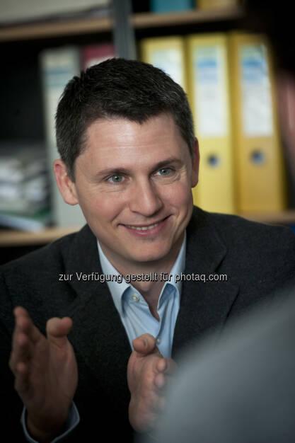 Jan Pichler, CEO myVeeta : Karrieremesse 2.0: fair.versity Austria mit Live-Stellenvermittlung : myVeeta ermöglicht einfachen Austausch von Bewerberdaten : Fotocredit: Talent Solutions (09.06.2016)