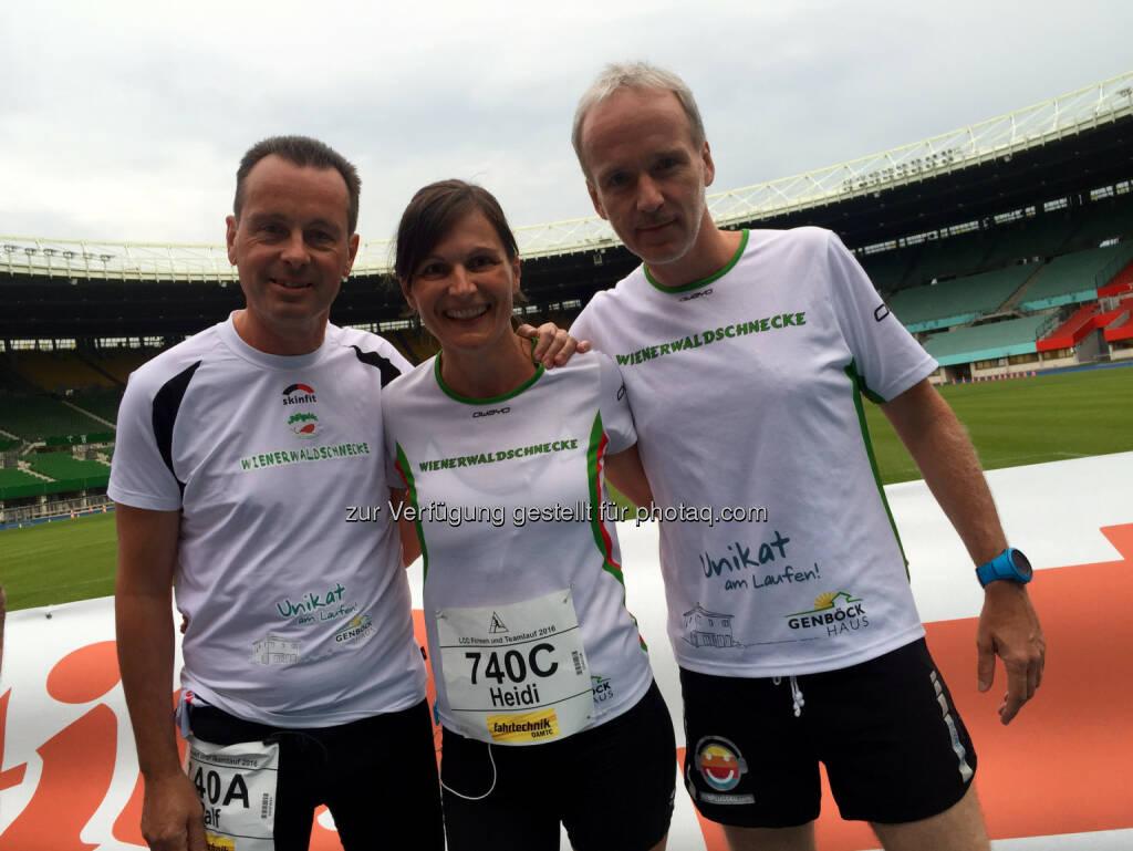Ralf Zehenthofer, Heidi Novy, Christian Drastil (10.06.2016)