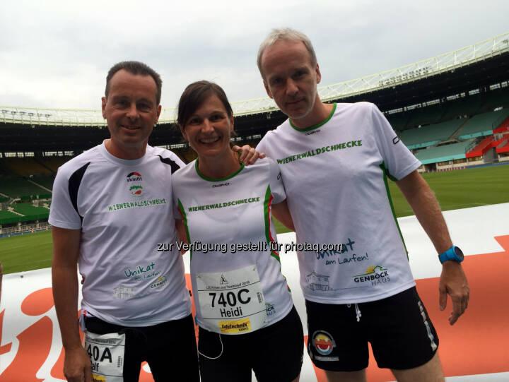 Ralf Zehenthofer, Heidi Novy, Christian Drastil