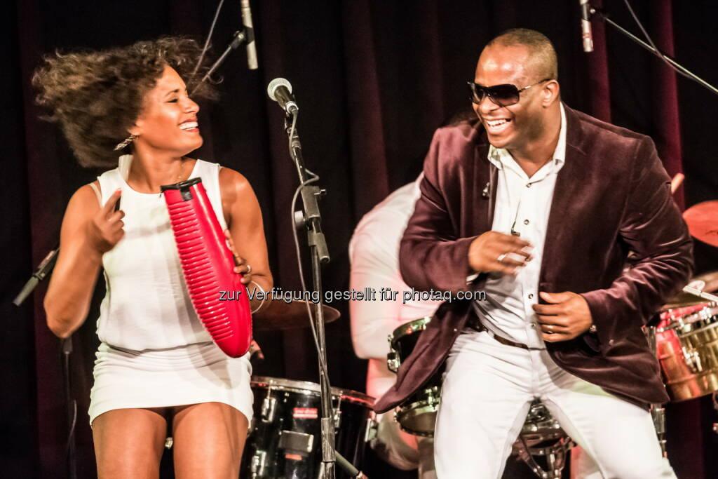 José Ritmo (Musiker, Dominikanische Republik) : Altstadtfest Linzer Gasse am 1. und 2. Juli 2016 : Fotocredit: Andreas Mueller, © Aussender (13.06.2016)