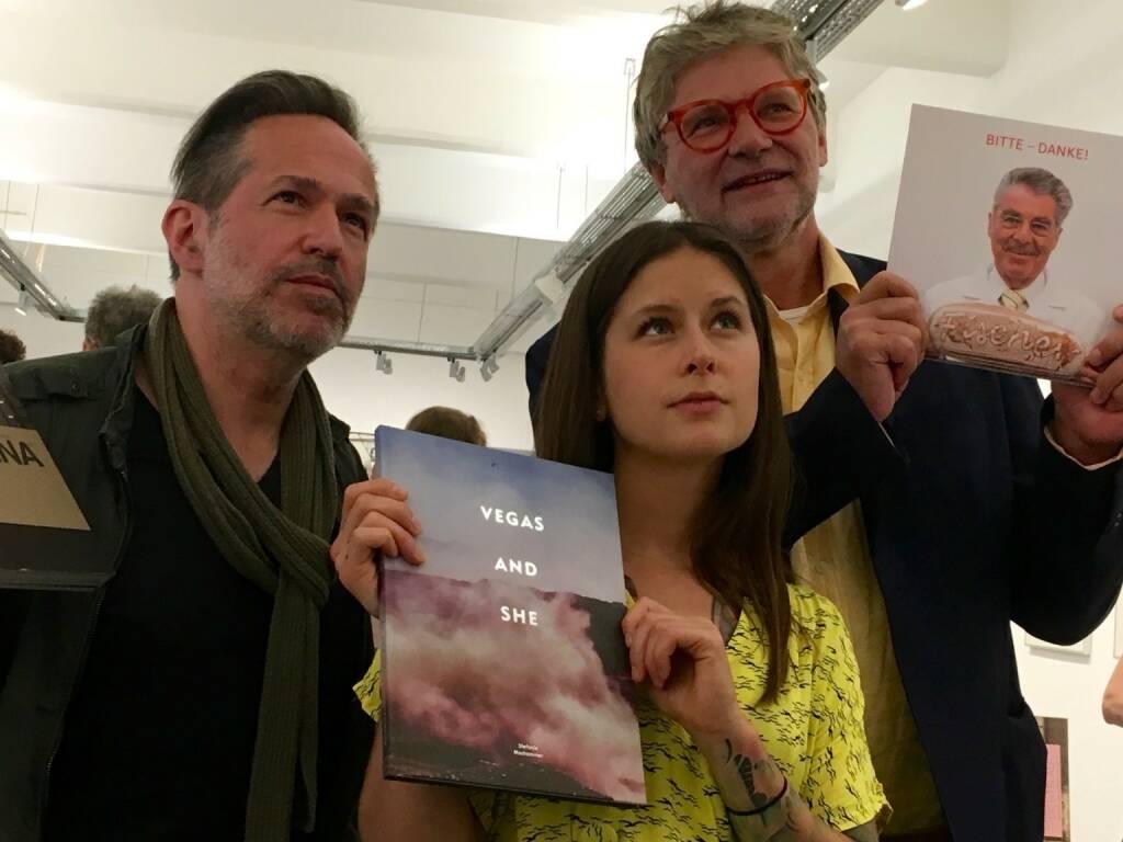 Andreas H. Bitesnich, Stefanie Moshammer, Peter Coeln (WestLicht) (photo: Josef Chladek) (13.06.2016)