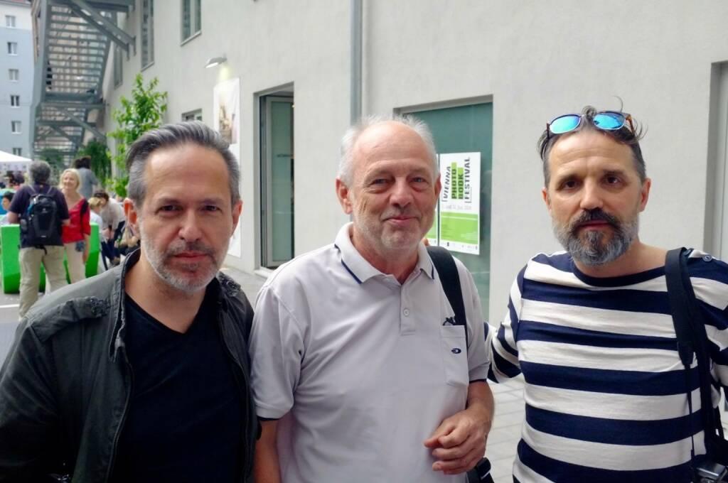 Andreas H. Bitesnich, Leo Kandl, Helfried Valenta (photo: Josef Chladek) (13.06.2016)