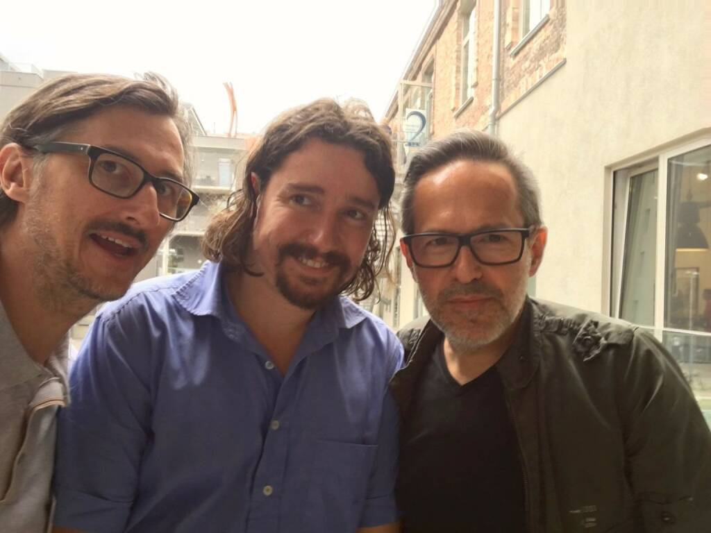 Josef Chladek, Clement Kauter (Le Plac'Art Photo), Andreas H. Bitesnich (photo: Josef Chladek) (13.06.2016)