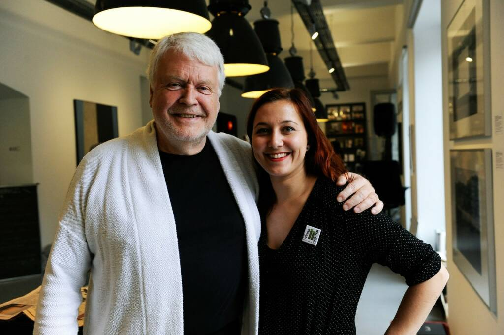 Manfred Heiting, Alina Parigger (OstLicht) (photo: Corina Lueger/OstLicht) (13.06.2016)