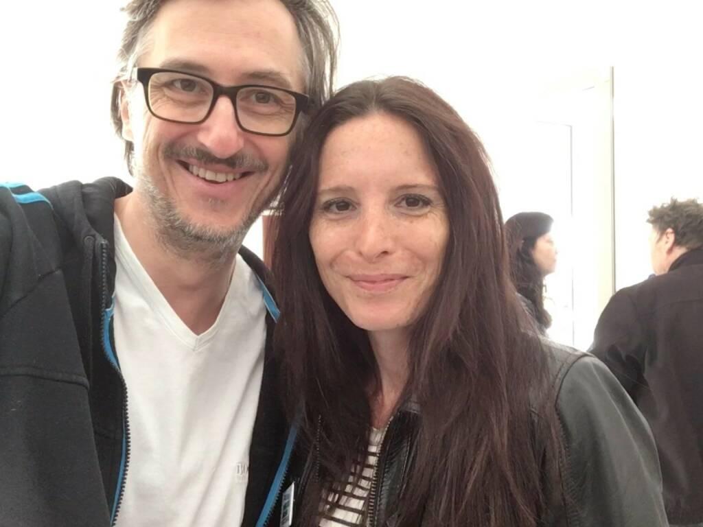 Josef Chladek, Christine Miess (2nd place of 3rd ViennaPhotoBookReview) (photo: Josef Chladek) (13.06.2016)