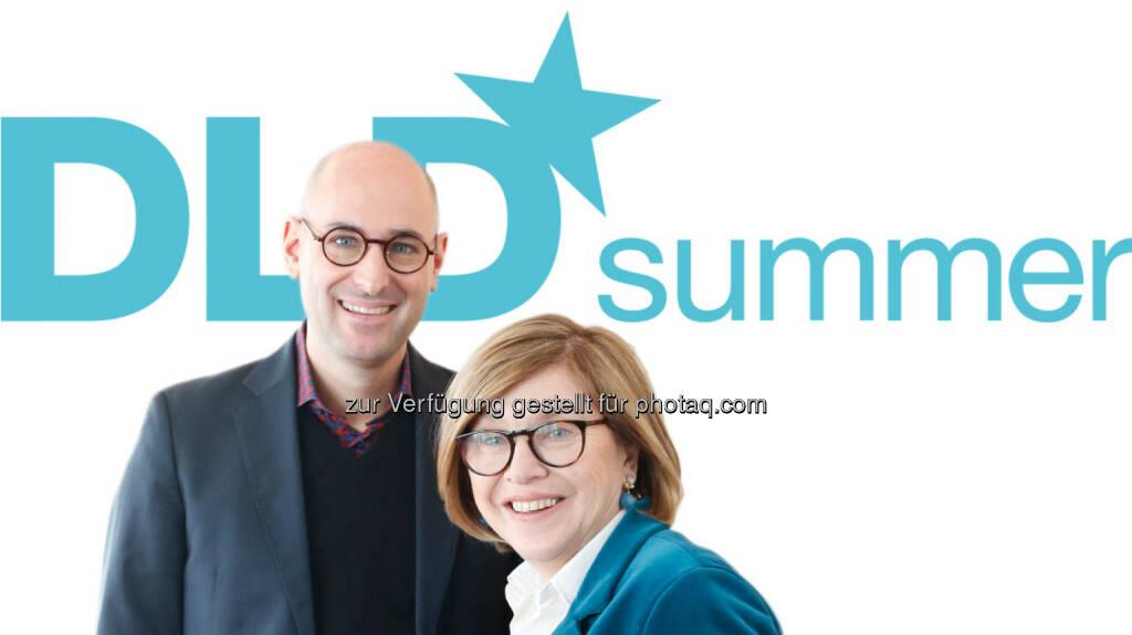 Joe Kaeser (Siemens-CEO), Hildegard Wortmann (BMW-Marketingchefin) : Speaker bei DLD Summer im Haus der Kunst in München : Fotocredit: Hubert Burda Media (14.06.2016)