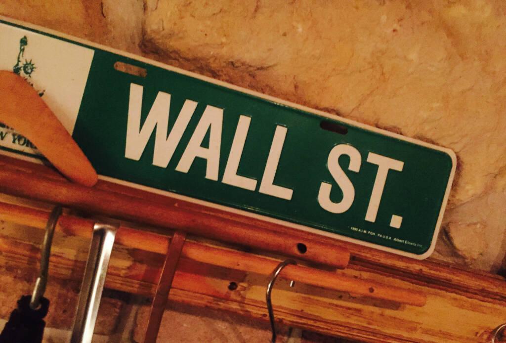 Wall Street New York Dow, © diverse photaq (20.06.2016)