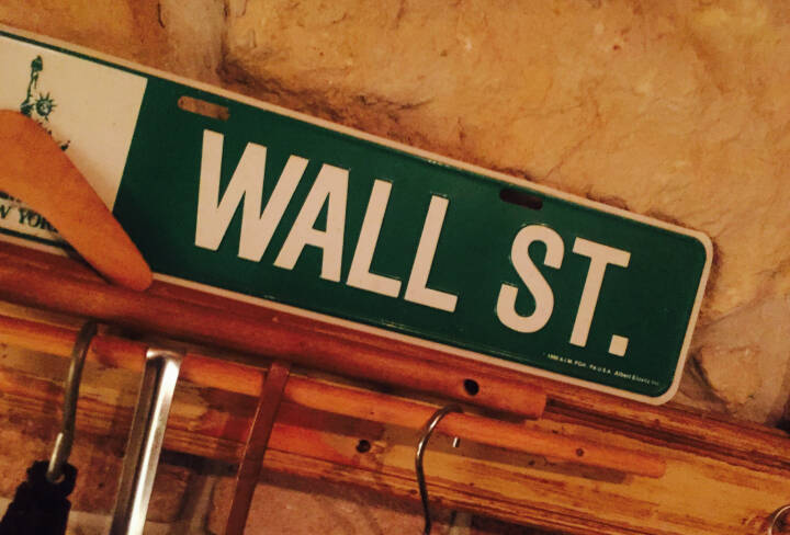 Wall Street New York Dow