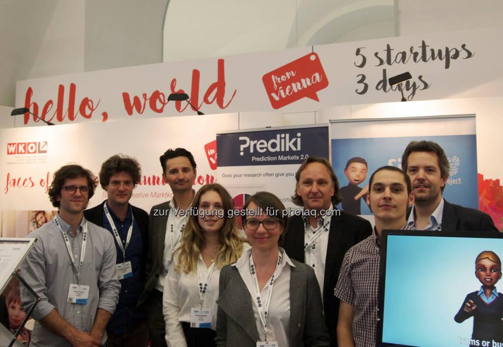 GEN SummitHello World :  Wiener Medien-Start-Ups überzeugen am GEN Summit : Fotocredit: Fachgruppe Werbung Wien, © Aussender (20.06.2016)