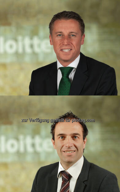 Herbert Urbicher (Audit Senior Manager), Christian Buchsteiner (Senior Manager) : Deloitte Styria verstärkt Team : Neuzugänge in den Bereichen Financial Advisory und Audit : Fotocredit: Deloitte, © Aussender (21.06.2016)