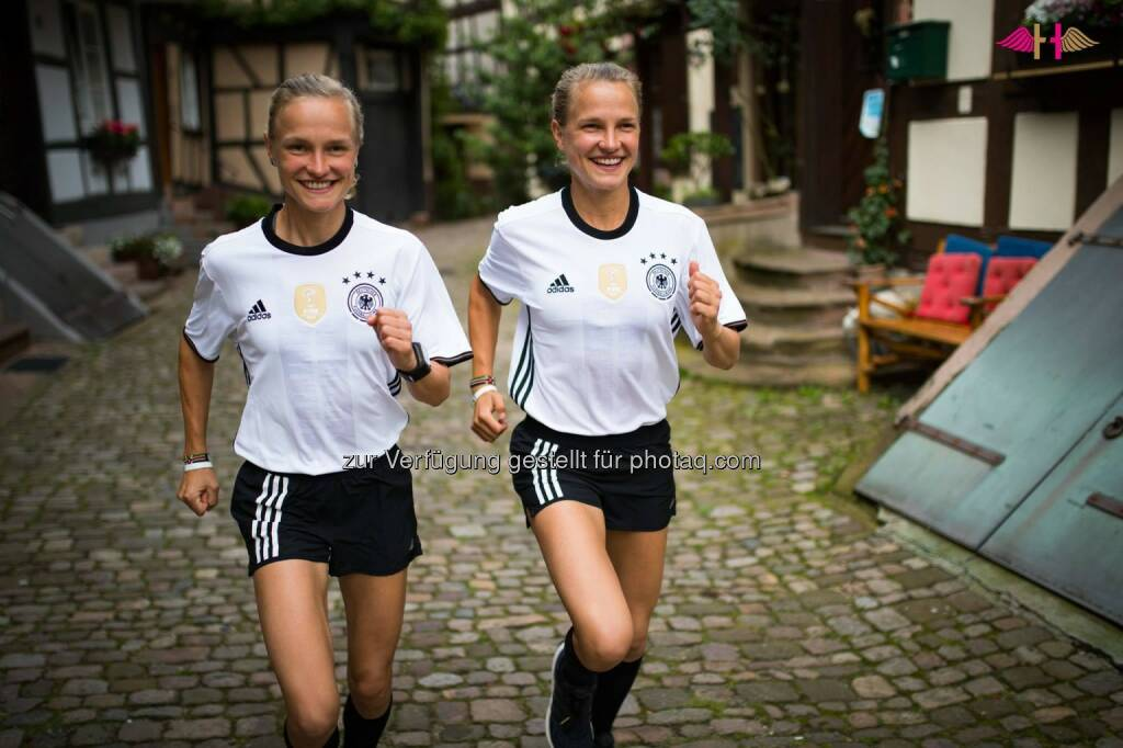 Anna und Lisa Hahner, Deutschland, Fussball, &copy; <a href=