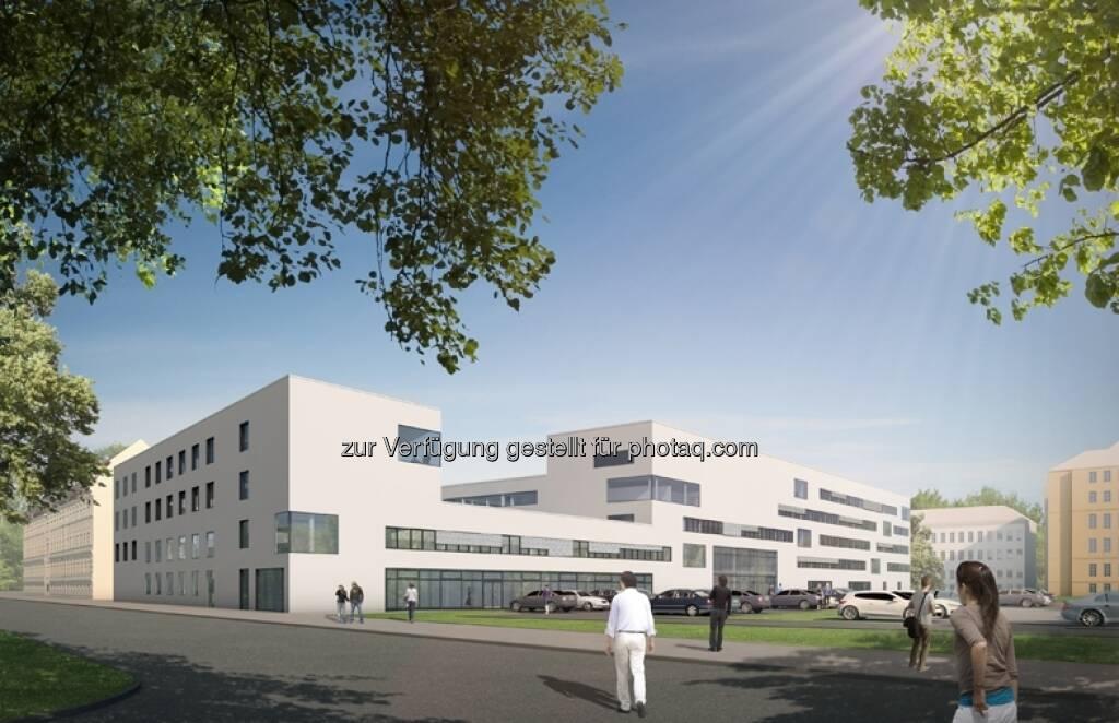 Neubau für die Landesregierung Brandenburg wird von der Strabag in öffentlich-privater Partnerschaft realisiert  (c) Aussendung) (18.04.2013)
