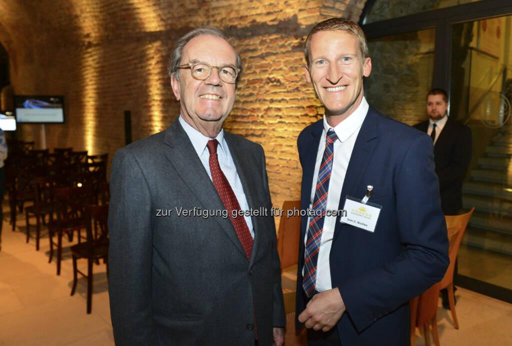Alfred Fogarassy und Sven Rischko (c) Harald Artner / APA OTS (18.04.2013)