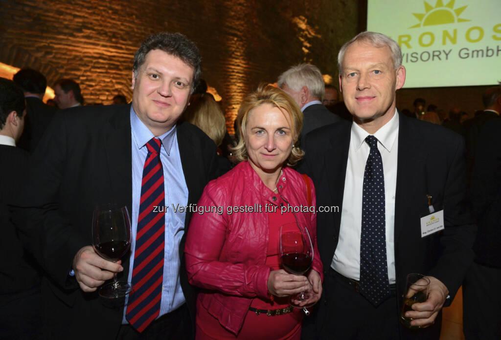 Martin Felenda, Claudia Stadler und Charles van Erp (c) Harald Artner / APA OTS (18.04.2013)