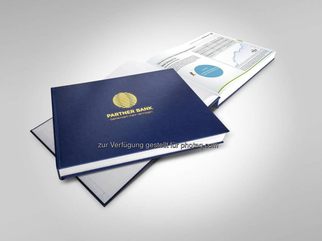 Fokusbuch der Partner Bank : Partner Bank bringt Ratgeber mit 400 Titeln für Finanzdienstleister : Fotocredit: Partner Bank AG/Die Marken-Architekten, © Aussender (29.06.2016)