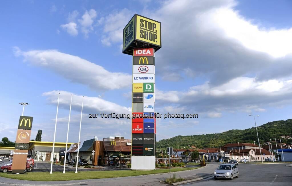 Eröffnung Stop Shop Szczytno, Polen : Immofinanz expandiert mit Stop Shop : Fotocredit: Immofinanz Stop Shop, © Aussendung (30.06.2016)