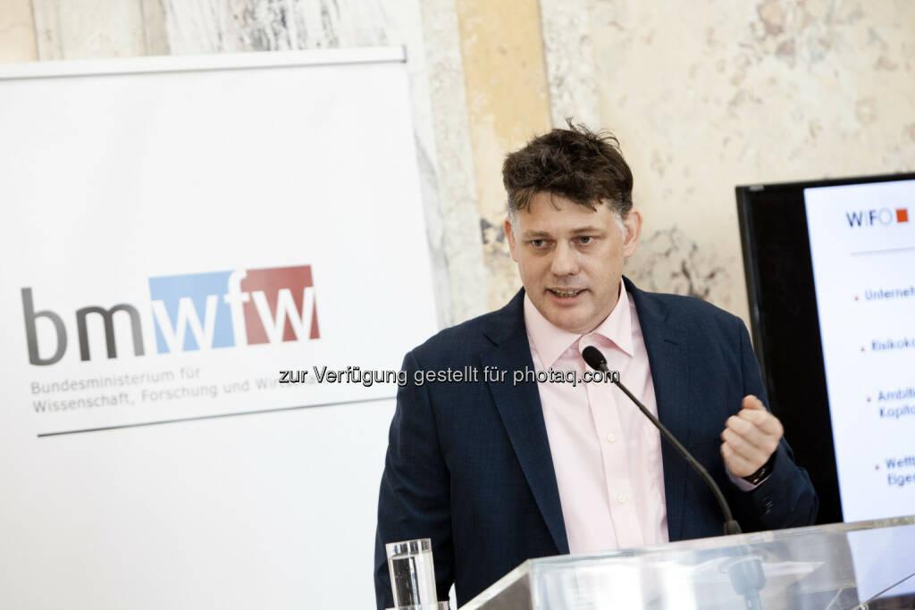 Werner Hölzl, WIFO, © Michèle Pauty (01.07.2016)