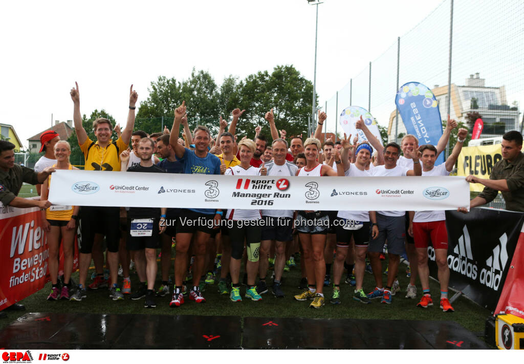 Sporthilfe Manager Run | 30. Juni 2016 | UniCredit Center Am Kaiserwasser : Fotocredit: GEPA Pictures, © Aussendung (01.07.2016)