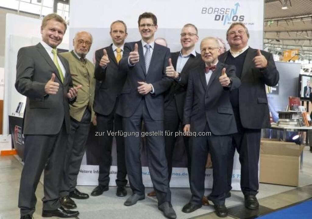 BörsenDinos, Invest 2013 in Stuttgart - http://www.messe-stuttgart.de/invest/ (19.04.2013)