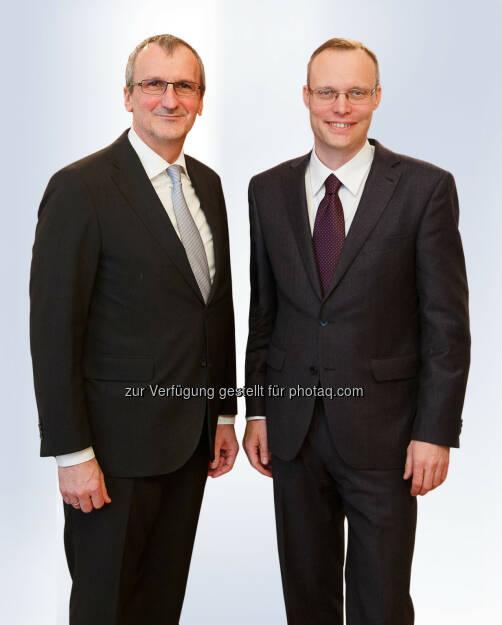 Meinhard Eckl, Alexander Biach : WK Wien: Neues Direktorium will Position der Wirtschaft stärken : Fotocredit: WKW, © Aussender (01.07.2016)