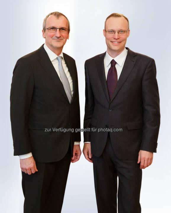 Meinhard Eckl, Alexander Biach : WK Wien: Neues Direktorium will Position der Wirtschaft stärken : Fotocredit: WKW