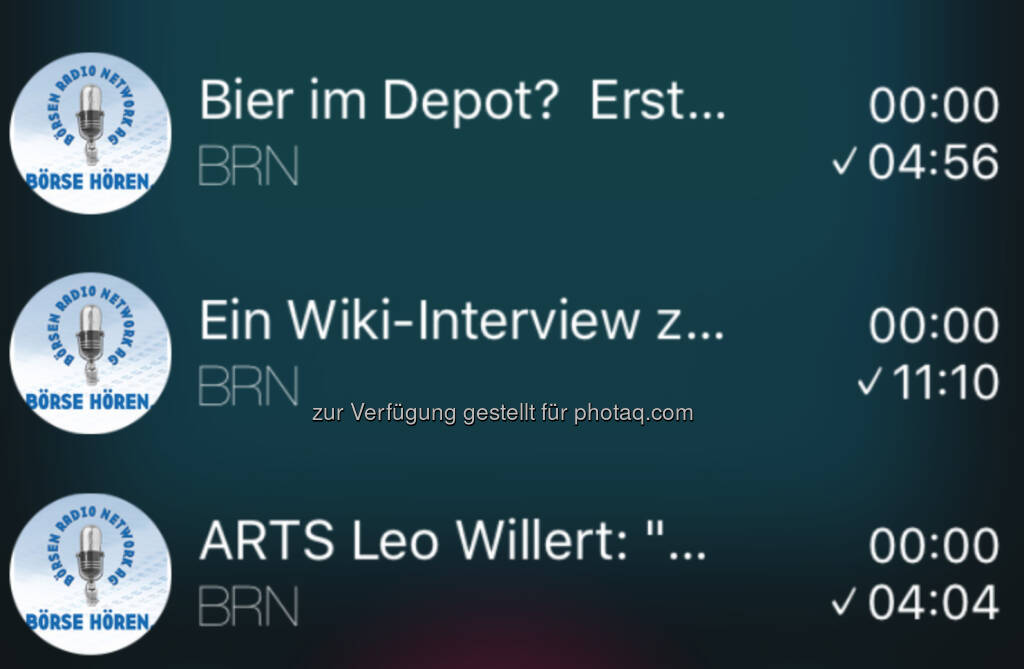 boersenradio.at für runplugged.com/app (01.07.2016)