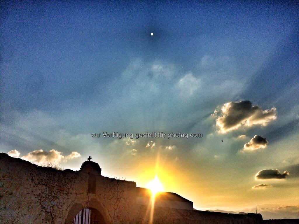 Kirche im Sonnenaufgang (04.07.2016)