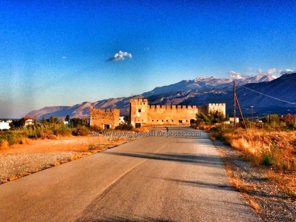 Kastell, Griechenland (04.07.2016)