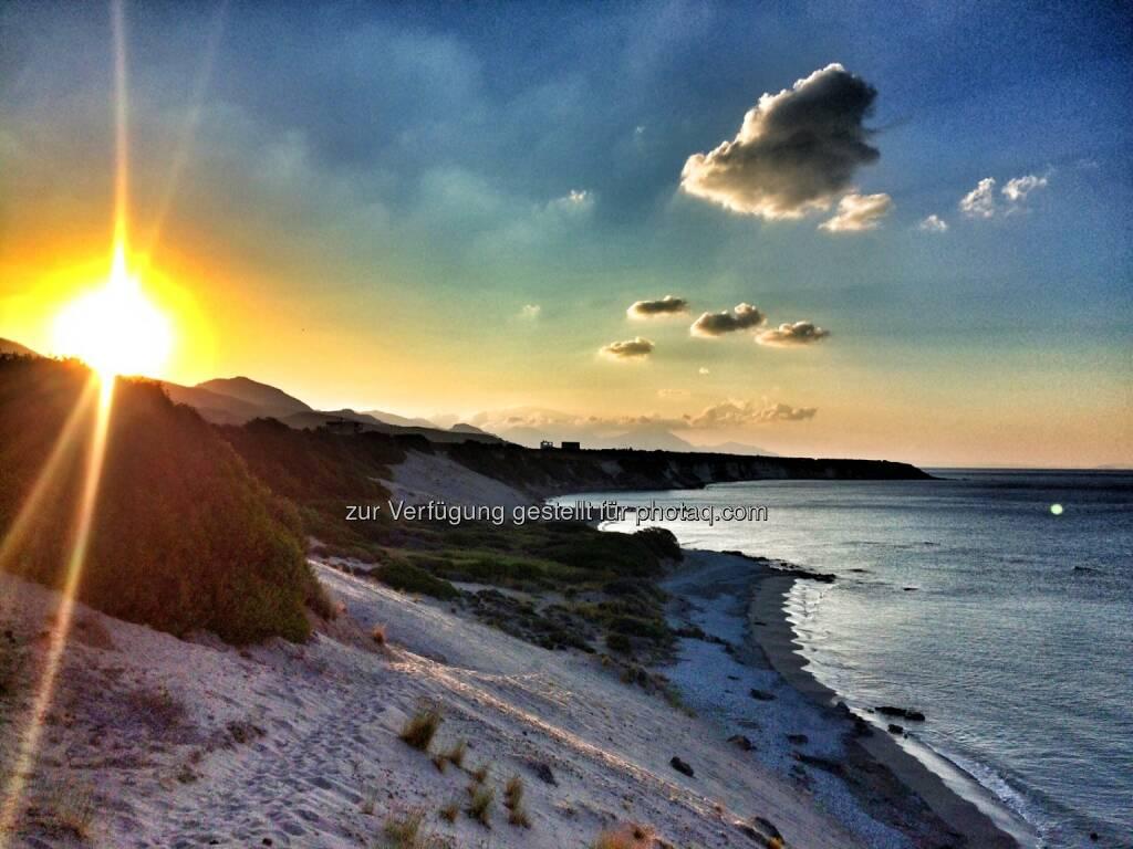 Strand, Sonne aufgehen, Sonnenaufgang (04.07.2016)