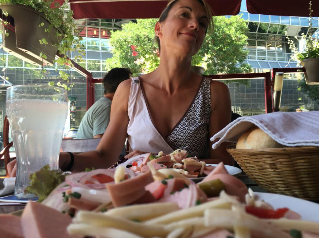 Mit Alexandra Baldessarini und viel Wurst und Käse und Semmel (04.07.2016)