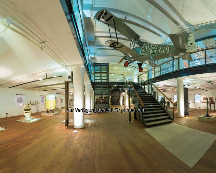 """Braumuseum Göss : Bierkultur im neuen """"Gösseum"""" : Braumuseum Göss bietet erlebnisreiche Reise durch die Zeit : Fotocredit: Brau Union Österreich"""