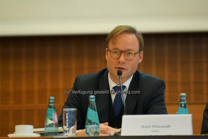 Axel Wieandt wird neues Beiratsmitglied bei der Forderungsbörse Debitos : Fotocredit: SAFE/HoF