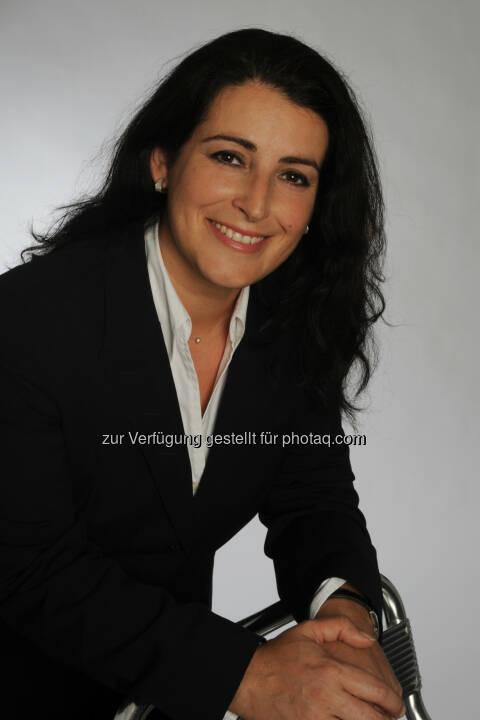 Fani Kalaitsidis, Leiterin der DACH Region (Deutschland, Osterreich, Schweiz) : Neue länderübergreifende Organisation der Myriad Genetics : Fotocredit: Myriad Genetics GmbH