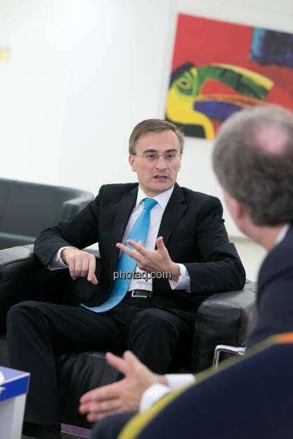 Josef Schuch (Deloitte), Christian Drastil (CD Comm.), © Martina Draper (15.12.2012)