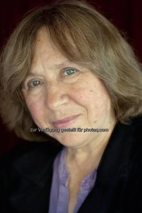 Swetlana Alexijewitsch (2015 Nobelpreis für Literatur) : Ehrengast von Literatur im Nebel in Heidenreichstein : Fotocredit: Ekko von Schwichow/schwichow.de