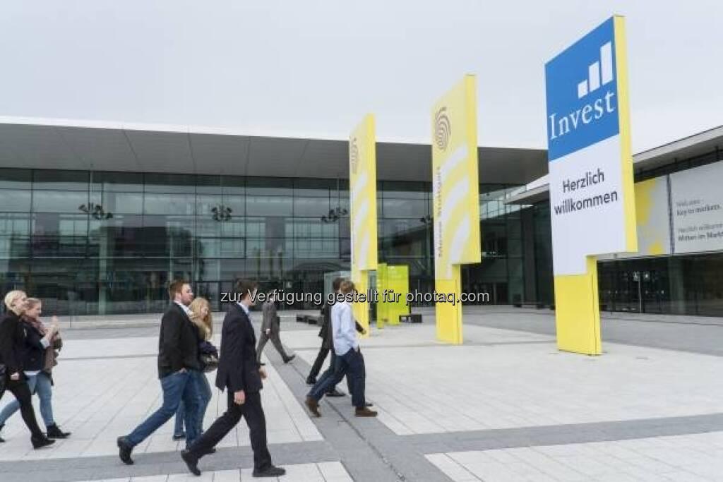 Gehen zur Invest 2013 in Stuttgart - http://www.messe-stuttgart.de/invest/ (19.04.2013)