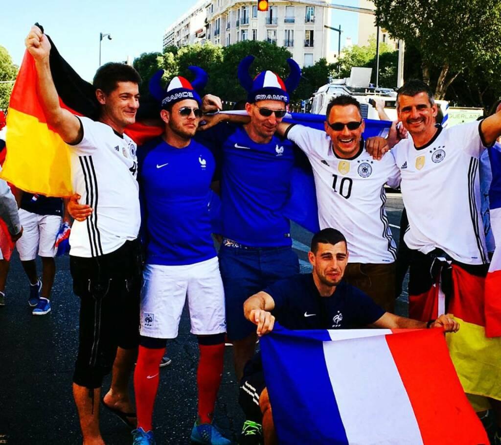 Frankreich Deutschland (08.07.2016)