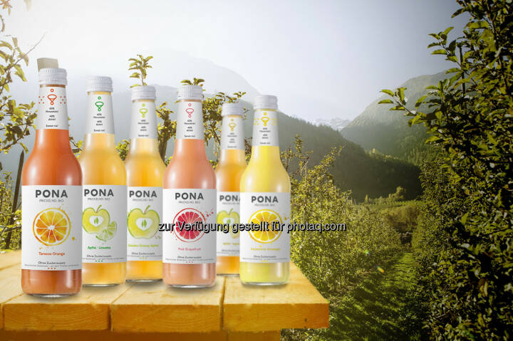 Pona Sortiment : Pona startet mit Crowdfunding: Bio-Limo gegen Zuckerbomben : Fotocredit: ©Green Rocket