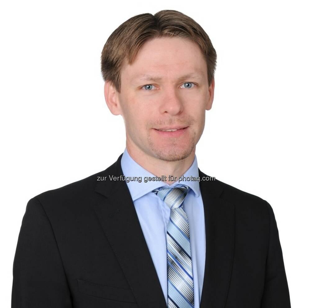 Sergey Goncharov : Als Credit Analyst Verstärkung der Fixed-Income-Boutique bei Vontobel Asset Management : Fotocredit: Vontobel Asset Management, © Aussender (12.07.2016)