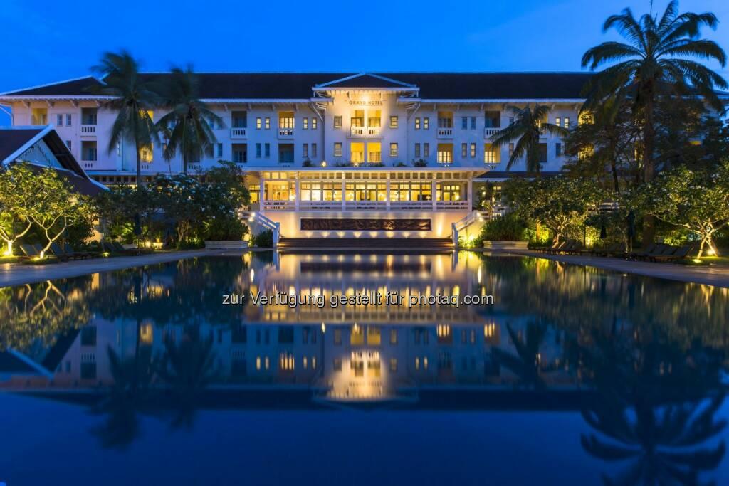 Raffles Grand Hotel d'Angkor Siem Reap in Cambodia : Accorhotels übernimmt globale Luxusmarken Fairmont, Raffles und Swissôtel : Fotocredit: Raffles/John McDermott, © Aussendung (13.07.2016)