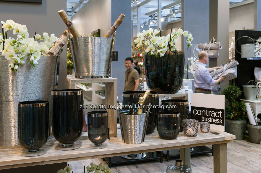Produktpräsentation Tendence / Horeca : Messe Frankfurt Tendence 2016: Contract Business - Idealer Marktplatz zum Informieren und Kennenlernen neuer Geschäftspartner : Fotocredit: Messe Frankfurt/Jean-Luc Valentin (13.07.2016)