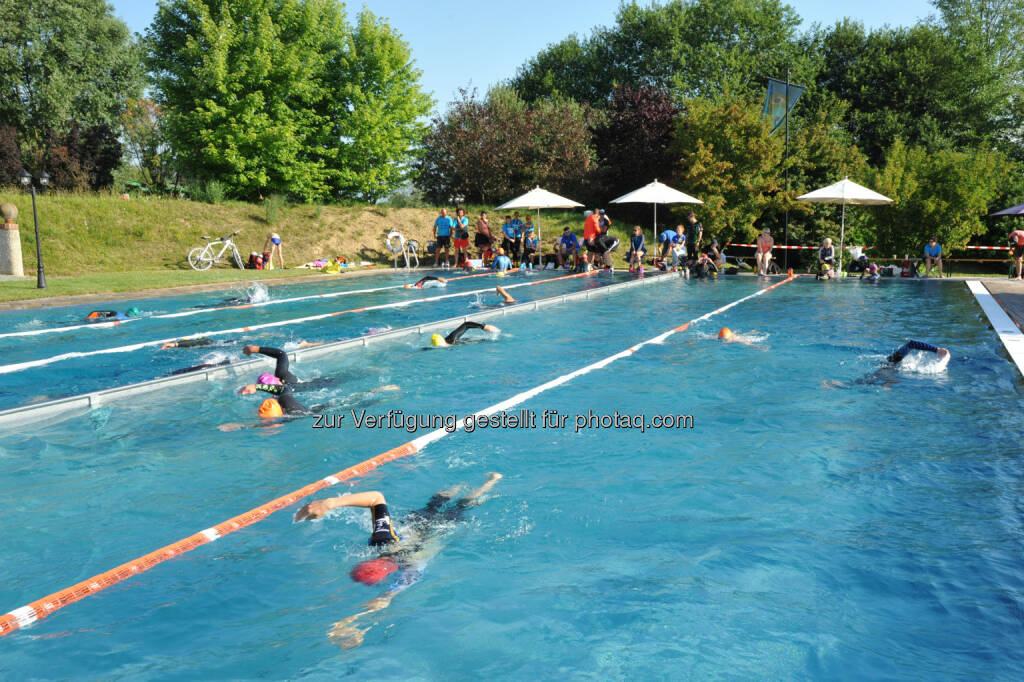 Rogner-Bad Blumau: Triple Ultra Triathlon 7. bis 10. Juli 2016 im Rogner Bad Blumau : Fotocredit: MSC Rogner Bad Blumau/Langhans, © Aussendung (13.07.2016)