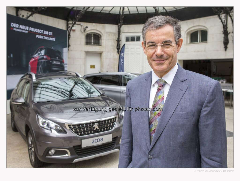 Pascal Teixeira da Silva (Botschafter der Republik Frankreich in Österreich) : Französischer Nationalfeiertag mit Peugeot : Fotocredit: Peugeot Austria GmbH/Houdek, © Aussendung (14.07.2016)