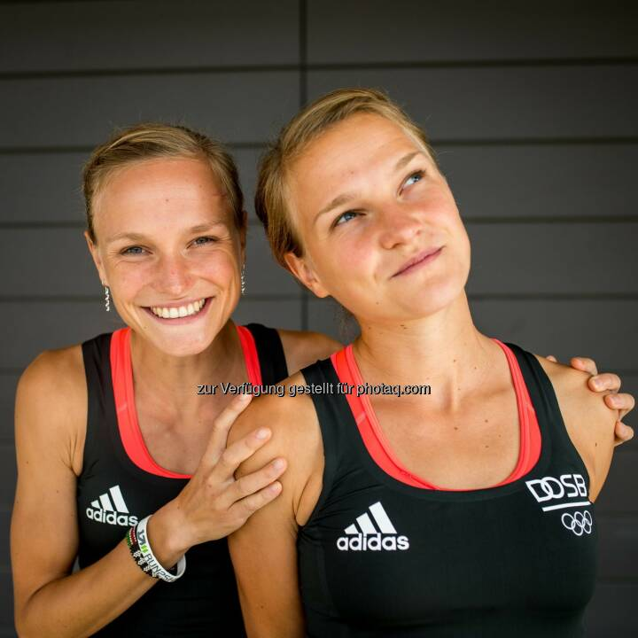 Anna und Lisa Hahner, Adidas