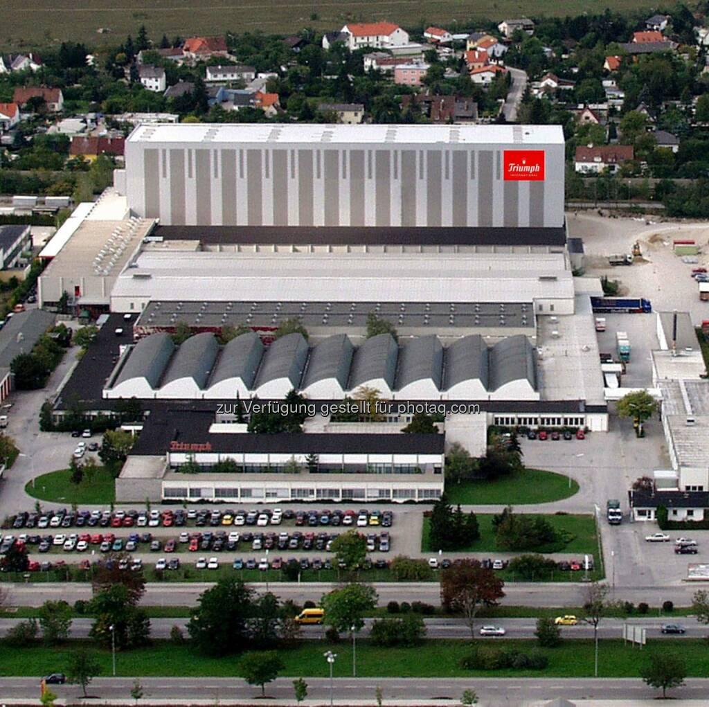 Triumph Standort Wiener Neustadt : Triumph nimmt weitere Optimierungen an seiner Lieferkette vor - das Unternehmen investiert in den Ausbau zentraler Lager in Wiener Neustadt und Obernai : Fotocredit: Triumph International AG, © Aussendung (15.07.2016)