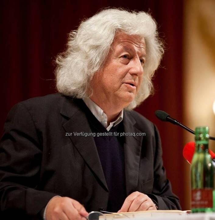 Péter Esterházy : Am Donnerstag, 14. Juli 2016 verstarb der ungarische Schriftsteller im 66. Lebensjahr in Budapest : Fotocredit: Esterhazy