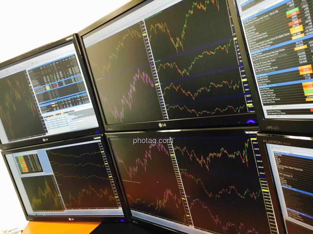 Trading, Handelsschirm, Monitor (16.07.2016)