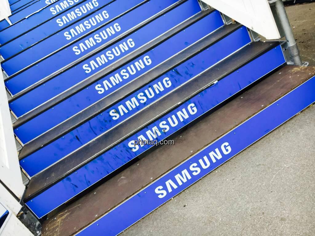 Samsung, Stufen, Treppe, © Josef Chladek/photaq.com (16.07.2016)