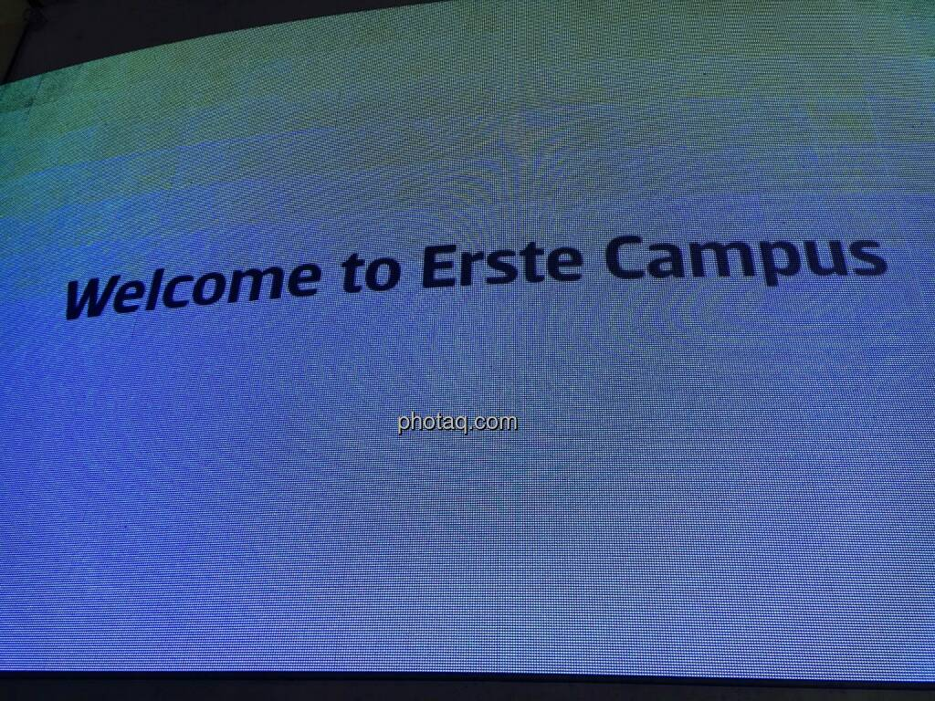 Welcome to Erste Campus, © photaq.com (16.07.2016)